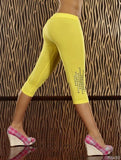 WOMAN LEGGINS COLOURSTONE YELLOW