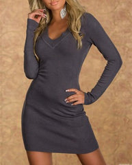 woman mini dress baily grey