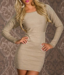 woman mini dress kelly cream