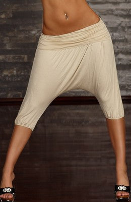 WOMAN PANTS PUMP CREMA