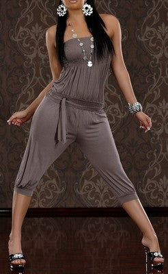 WOMAN JUMPSUIT BETTY COFFE