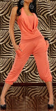 WOMAN JUMPSUIT DIANA ORANGE