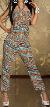 WOMAN JUMPSUIT DIXIE MULTICOLOR