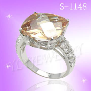 925 Sterling Silver CZ Dream Ring S 1148