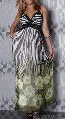 Occassional Party Green Maxi Dress Lilly