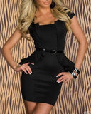 Must Have Black Mini Dress Monny