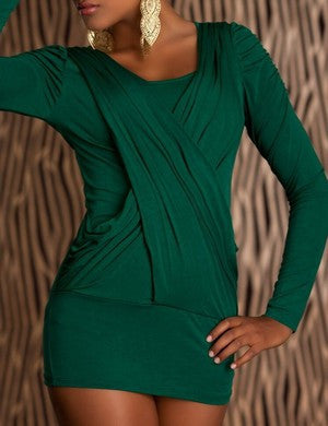 WOMAN TOP ROBERTA GREEN