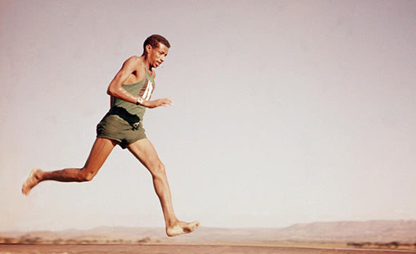 The story of Abebe Bikila in Rome