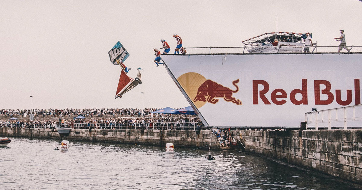 Red Bull and Siroko together - Día de las Alas Gijón 2017