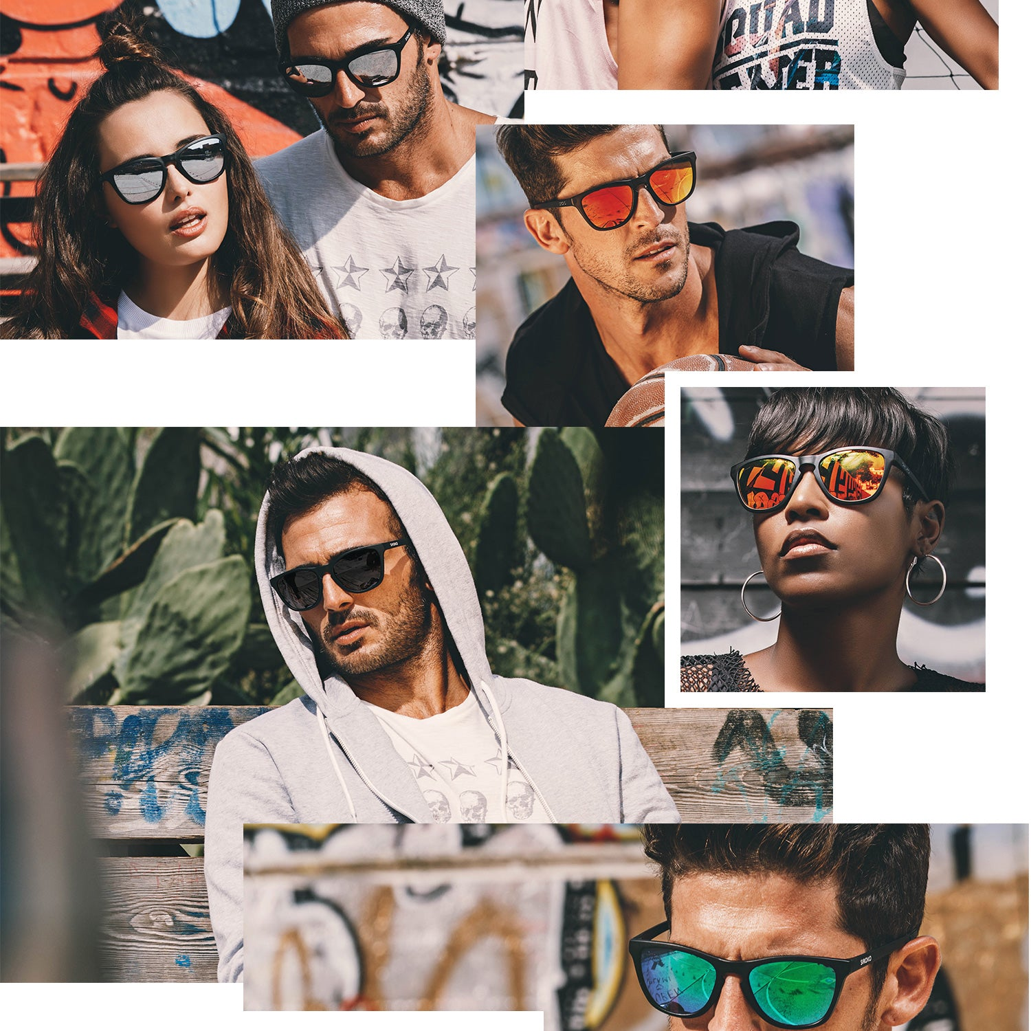 5d215f9dea LOOKBOOK SIROKO SPORTIVE SUNGLASSES