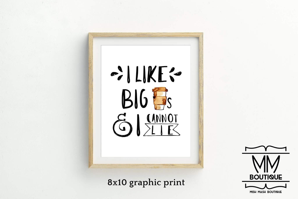 Mish Mash Boutique- Coffee Prints