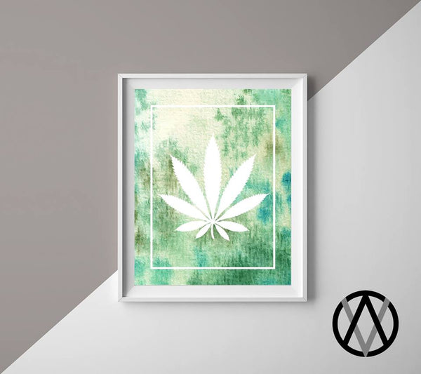 Vice & Virtue - Cannabis Prints