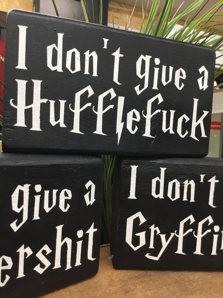 Harry Potter Sweary Signs