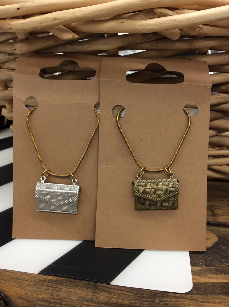 Envelope Necklaces