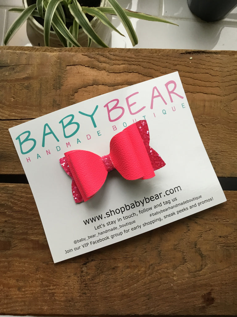 Baby Bear - Stacked Bows