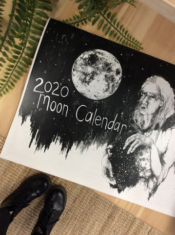 Amara Hollow Bones - 2020 Moon Calendar