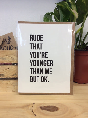 Bold Statement Greeting Cards
