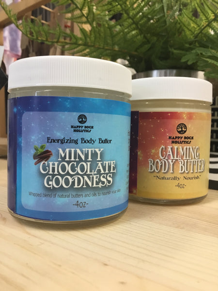 Happy Rock Holistics - Body Butters