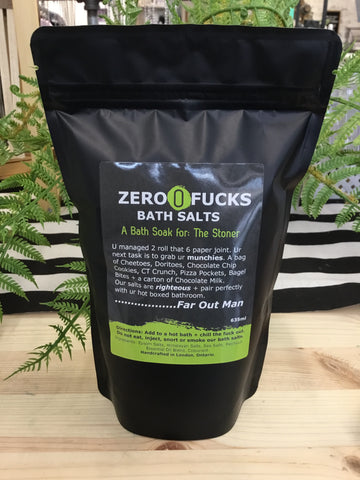 Zero Fucks - Offensive Bath Salts