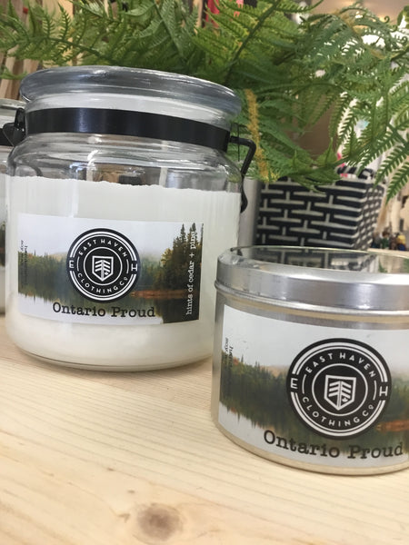 East Haven Clothing Co - Essential Oil Candle