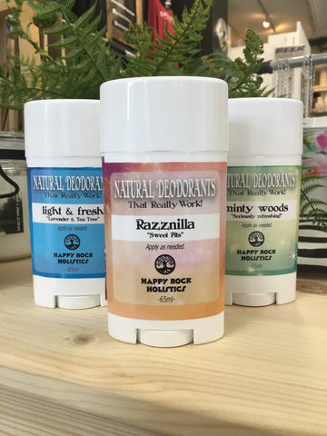 Happy Rock Holistics- Natural Deodorants
