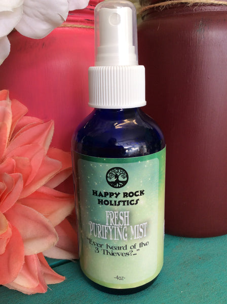 Happy Rock Holistics- Aromatherapy Mists