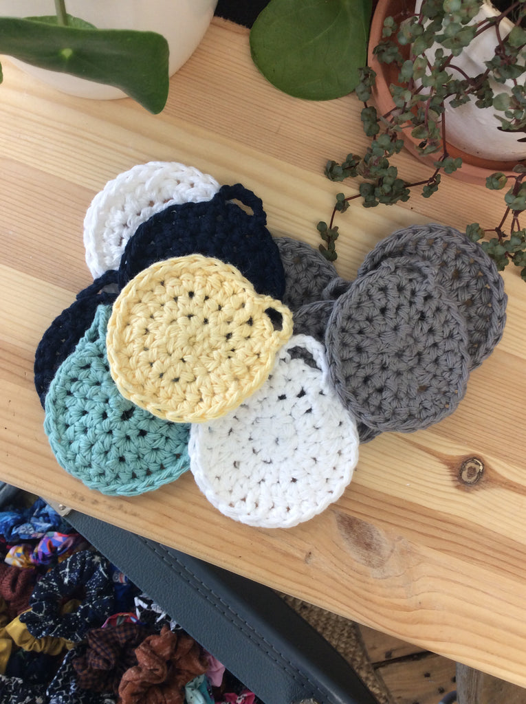 Zero Waste Face Scrubbies
