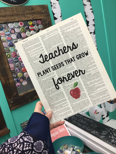 Mish Mash Boutique - Dictionary Prints