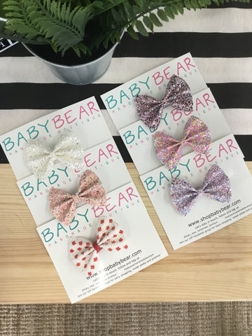 Baby Bear - Pinch Bows