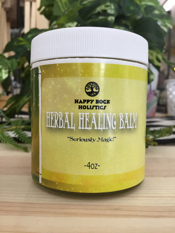 Happy Rock Holistics - Herbal Balms