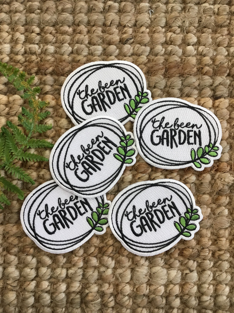 The Been Garden Sew On Patch