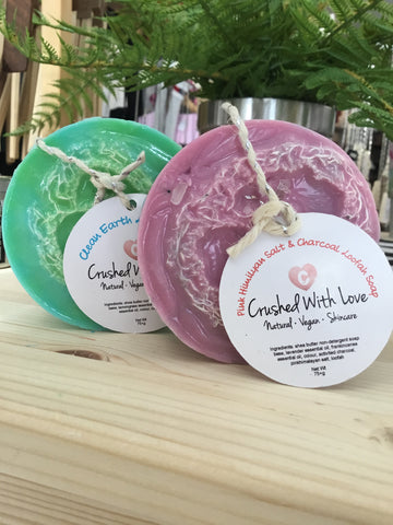 Crushed With Love - Loofah Soaps
