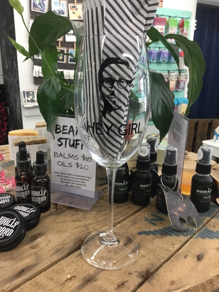 Vinyled Wine Glasses