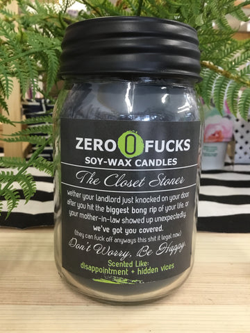 Zero Fucks - Offensive Candles