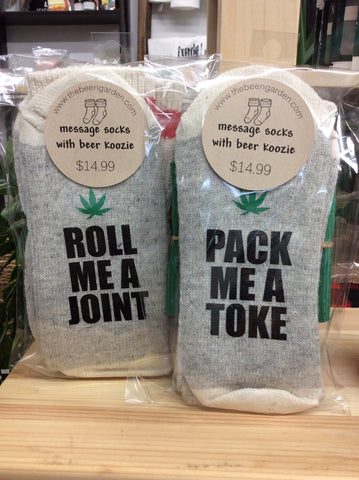 Random Ink - Message Socks