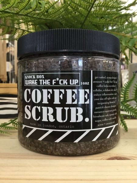Knock Box - Coffee Scrub