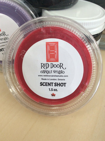"Red Door Candle Studio - Single Scent ""Shots"""