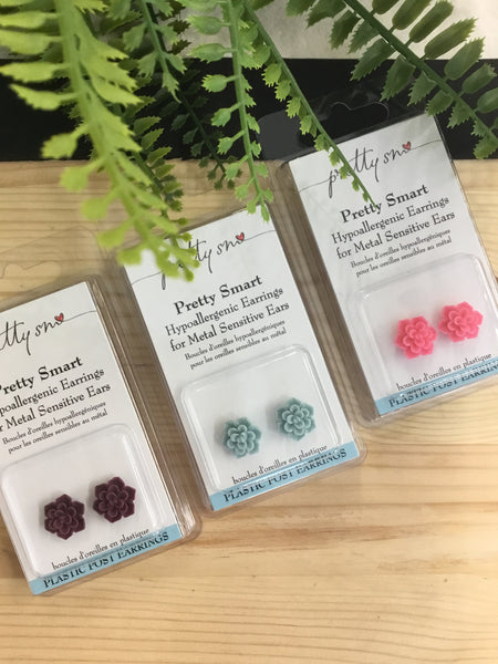 Pretty Smart Jewelry - Plastic Earrings