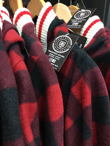 East Haven Clothing Co - Buffalo Plaid Poncho