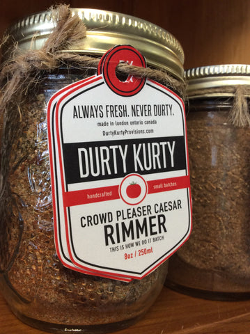 Durty Kurty - Rimmers and Spices
