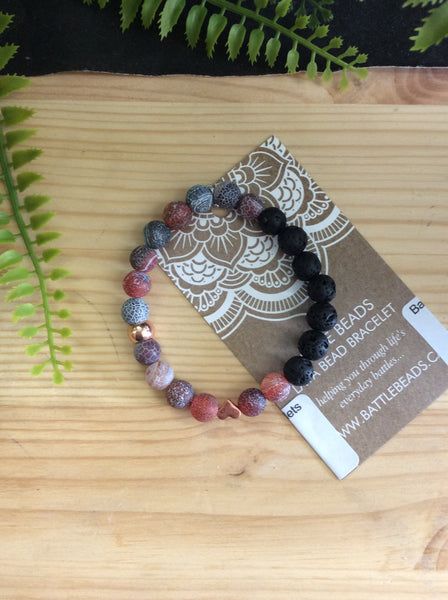 Battle Beads - Aromatherapy Bracelets