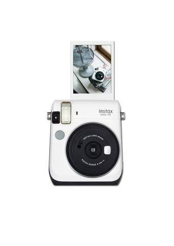 fuji instax mini 70 white instant camera film shoot out