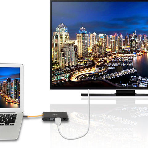 Macbook Thunderbolt 3 & Laptop computer USB C to HDMI 4K UHD video adapter