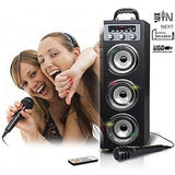 Pure Acoustics MCP-30 Portable Karaoke System w/ Mic (colour options)