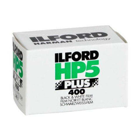Ilford HP5 Plus 400 35mm 36 exposures B&W Film (Pack Size Options)