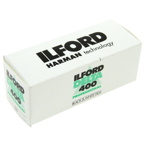 Ilford Delta 400 120 Film B&W (Pack Size Options)