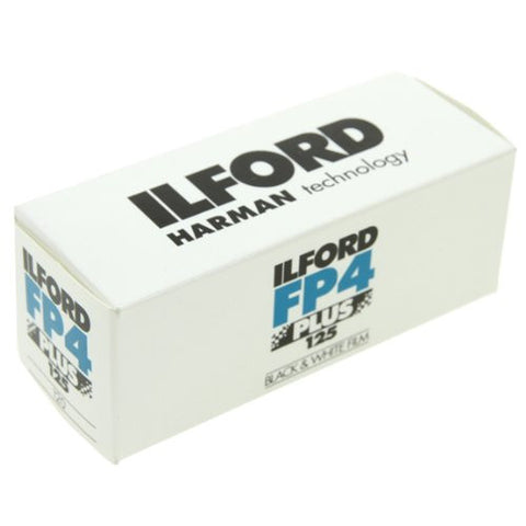 Ilford FP4 Plus ISO 125 Size 120 Single Roll B&W Film (Pack Size Options)