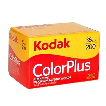 Kodak Colorplus 200 35mm 36 Exposures Color Negative (Pack Size Options)
