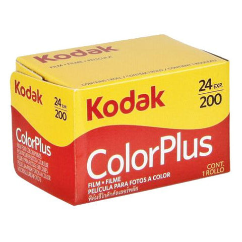 Kodak Colorplus 200 35mm 24 Exposures Color Negative (Pack Size Options)