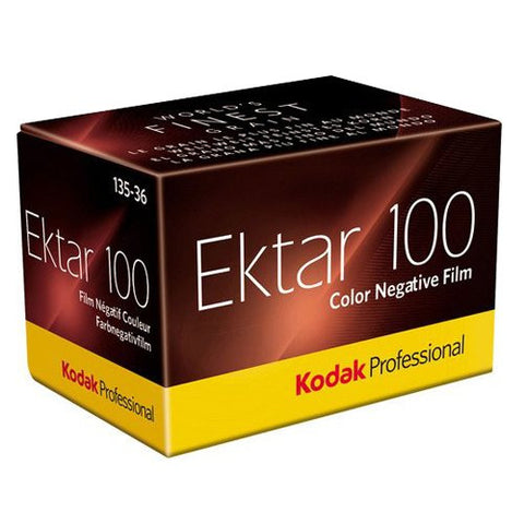 Kodak Ektar 100 35mm 36exposure Iso 100 Color Negative Pro Film (Pack Size Options)